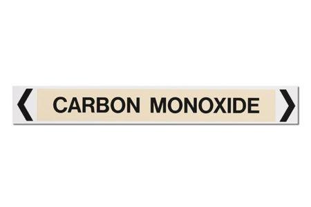Carbon Monoxide MS-900AS Self Adhesive Marker Marking Services Australia