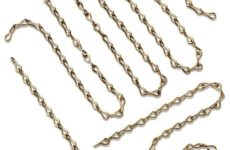 Jack Chain Fasteners - Brass or Stainless Steel