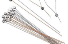 Lead Meter Seal Fasteners - Copper or Stainless Steel