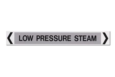 Marking Services Australia MS-900AS self-adhesive low pressure steam pipe markers