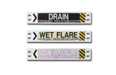 MS-995 Small Carrier Pipe Markers from Marking Services Australia
