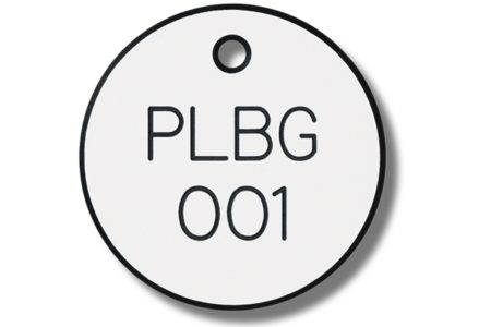 MSA offers engraved plastic valve tags for color coding valves, equipment and instrumentation.