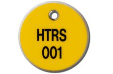 MS-215 Max-Tek Valve Tags from MSA provide excellent visibility