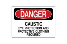 MS-215 Rigid Operation Signs and Safety Signs from Marking Services Australia