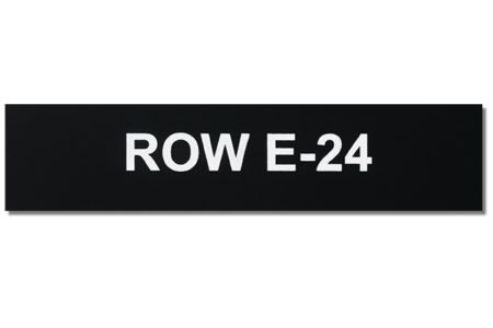 Outdoor Engraved Plastic Equipment Tags from Marking Services Australia